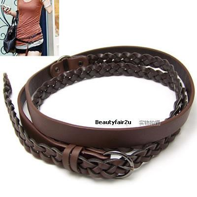 Brown Fashion Belts on B0808310 Normal Price  Rm24 90   Fine Woven Belt Twice  Dark Brown